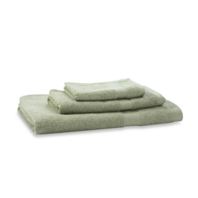 Bamboo Viscose Sage 3-Piece Towel Set