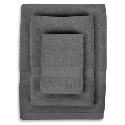 Bamboo Viscose Slate 3-Piece Towel Set