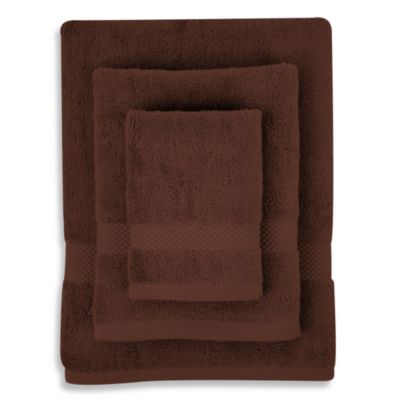 Organic Cotton Chocolate 3-Piece Towel Set