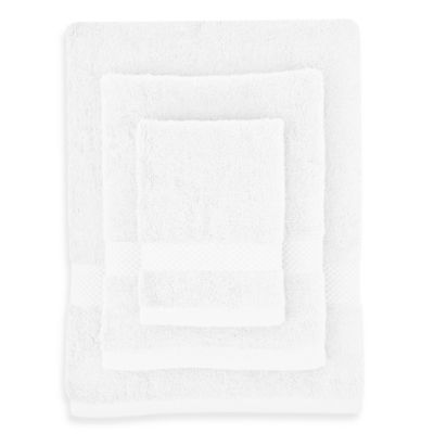 Organic Cotton Pure White 3-Piece Towel Set