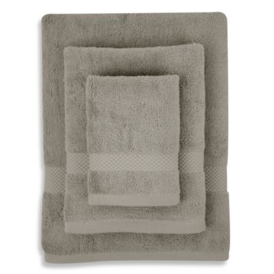 Organic Cotton Pure Light Grey 3-Piece Towel Set