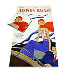 Harper's Bazaar™ Family History Oversized Cotton Beach Towel