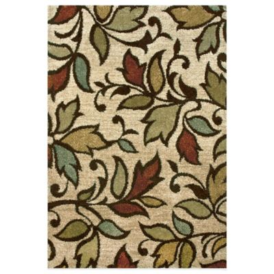 Orian Rugs Getty Bisque 7-Foot 10-Inch x 10-Foot 10-Inch Rug