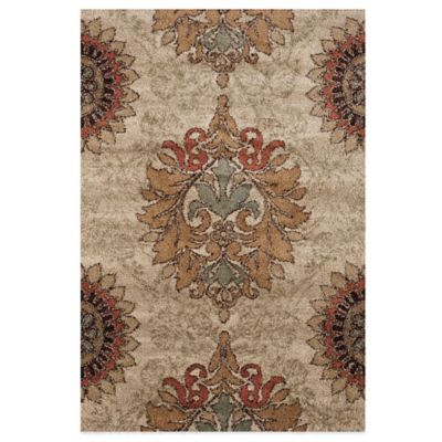 Orian Rugs Jacqueline 7-Foot 10-Inch x 10-Foot 10-Inch Rug in Bisque