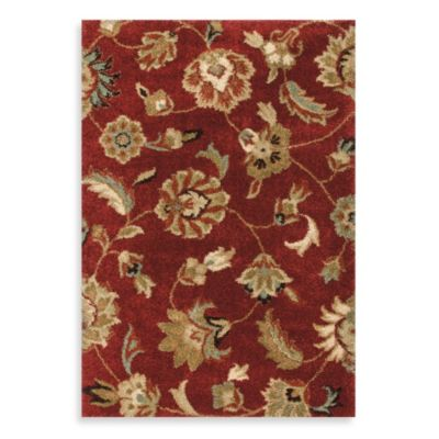 Orian Rugs London 5-Foot 3-Inch x 7-Foot 6-Inch Rug - Rouge