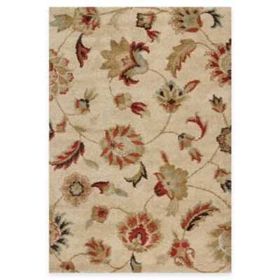 Orian Rugs London 5-Foot 3-Inch x 7-Foot 6-Inch Rug - Bisque