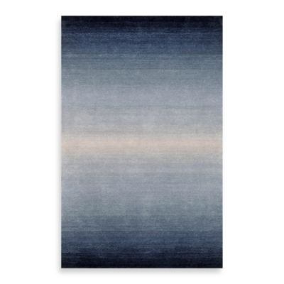 Trans-Ocean Horizon Rug in Denim