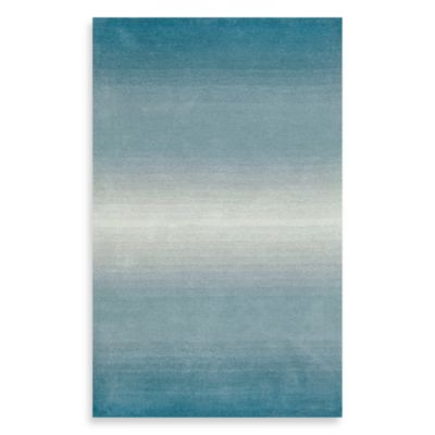 Trans-Ocean Horizon 9-Foot x 12-Foot Rug in Aqua