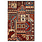 Couristan® Kerman Mosaic Burgundy Indoor Rug