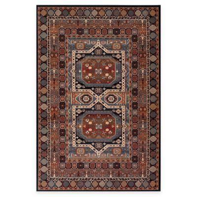 Couristan® Maharaja Ebony 4-Foot 6-Inch x 6-Foot 6-Inch Indoor Rug