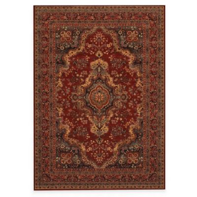 Couristan® Kerman Medallion 4-Foot 6-Inch x 6-Foot 6-Inch Indoor Rug