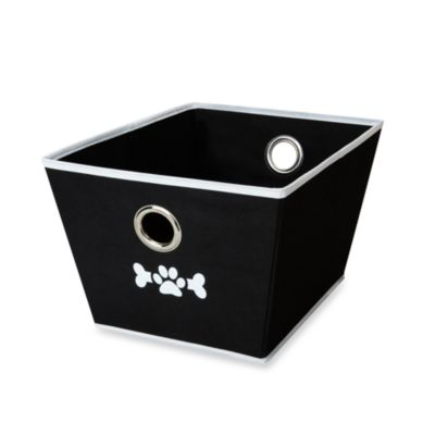 LAZYBONEZZ™ The Toy Bin for Pets in Black