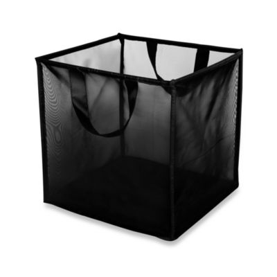 LAZYBONEZZ™ The Mesh Toy Bin for Pets in Black