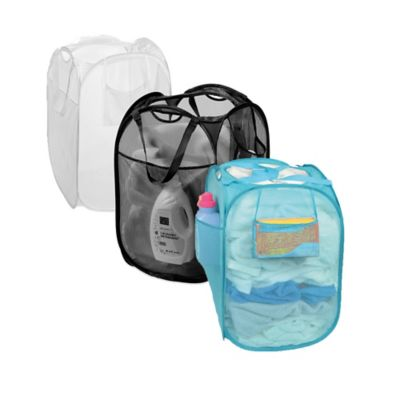 Pop-Up Mesh Laundry Hampers