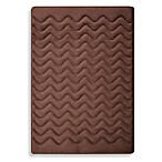 Microdry® 3D Dimensional Small Pet Mat in Chocolate