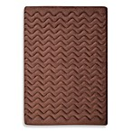 Microdry® 3D Dimensional Large Pet Mat in Chocolate
