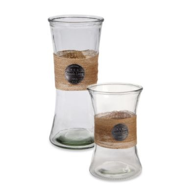 Clear Glass Lantern Jars