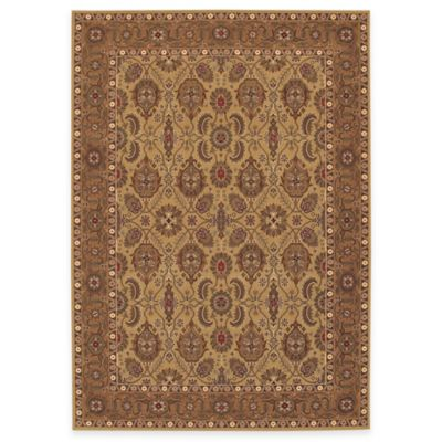 Couristan®All Over Vase Hazelnut 5-Foot 3-Inch x 7-Foot 6-Inch Indoor Rug