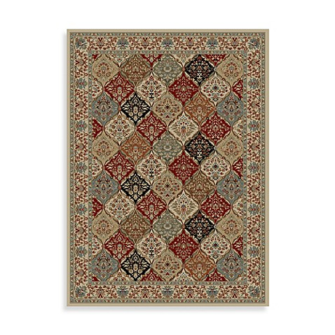 Concord Global Bakhtiar Rug in Ivory