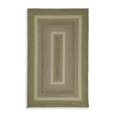 Kaleen Bimini Indoor/Outdoor Rug in Celery