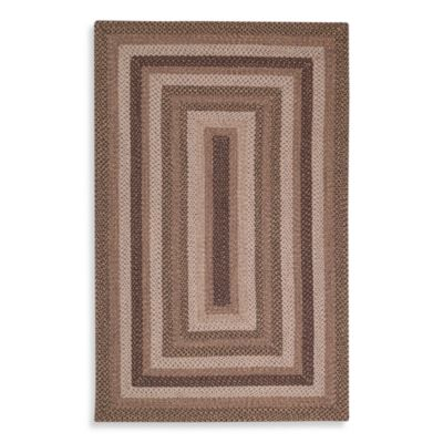 Kaleen Bimini 8-Foot x 11-Foot Indoor/Outdoor Rug in Mocha