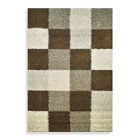 Concord Global Blocks Natural Rug