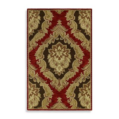 Castilian 7-Foot 9-Inch x 9-Foot Indoor Rug in Salsa