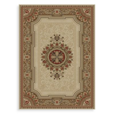 Concord Global Chateau 3-Foot 11-Inch x 5-Foot 5-Inch Rug in Ivory