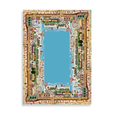 Concord Global Coney Island 5-Foot 3-Inch x 7-Foot 3-Inch Indoor Rug