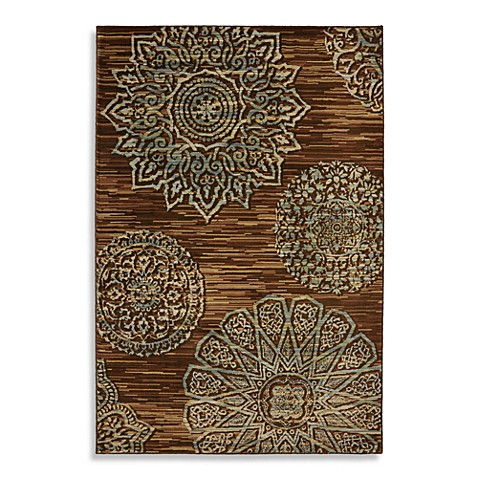 Mohawk Home Corsia 8-Foot x 10-Foot Indoor Rug in Bison