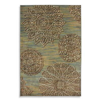 Mohawk Home Corsia Indoor Rugs in Winter Mist