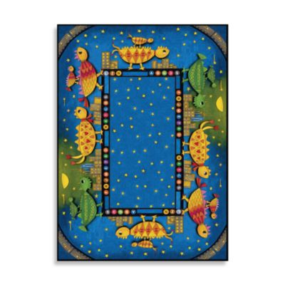 Concord Global Dino Chicks Rug