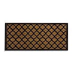 Fret Pattern Estate-Size Coir Doormat