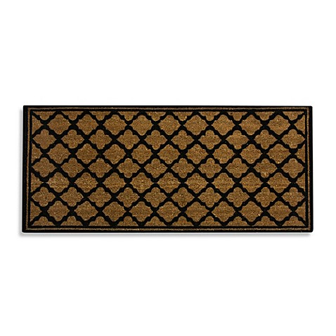 Fret Pattern Estate Size Coir Door Mat Bed Bath Amp Beyond