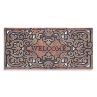 Mohawk Home Versailles 22-Inch x 47-Inch Welcome Door Mat