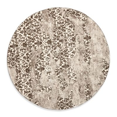 Safavieh Retro Art Afolabi 6-Foot Round Rug
