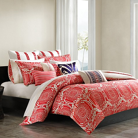 echo design cozumel duvet cover and sham set bed bath beyond. Black Bedroom Furniture Sets. Home Design Ideas