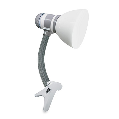Verilux® SmartLight™ Clip Lamp in White