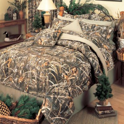 Realtree Max  Camo Bed Set