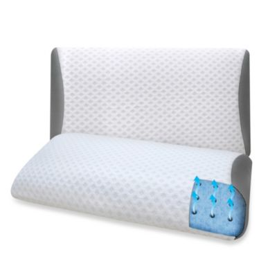 Therapedic® Queen EuroGel Luxury Bed Pillow