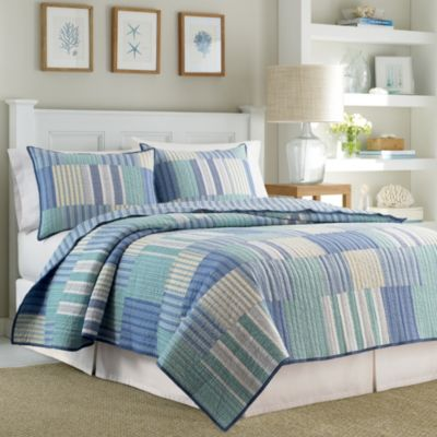 Nautica® Belle Isle Reversible King Quilt