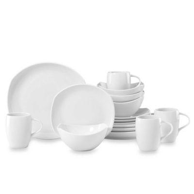 Dansk® Classic Fjord Porcelain 16-Piece Dinnerware Set