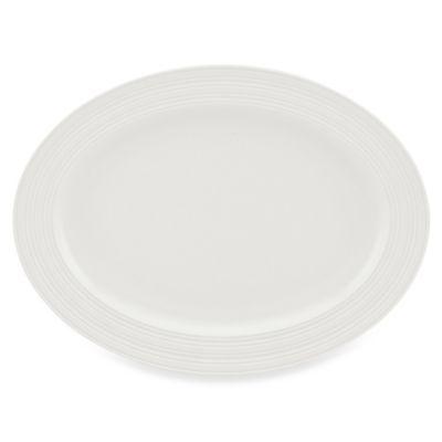 White Truffle Oval Platter