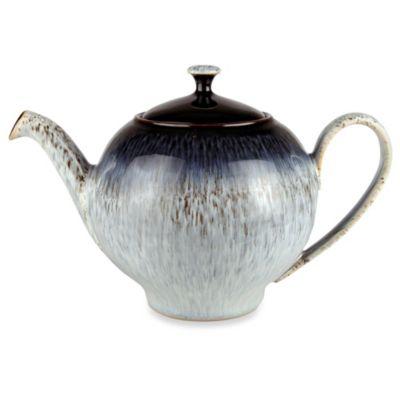 Denby Halo 40-Ounce Teapot