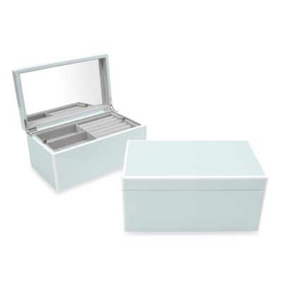 Swing Design™ Elle Lacquer Jewelry Box in Blue