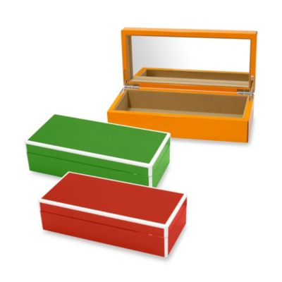 Green Storage Trays