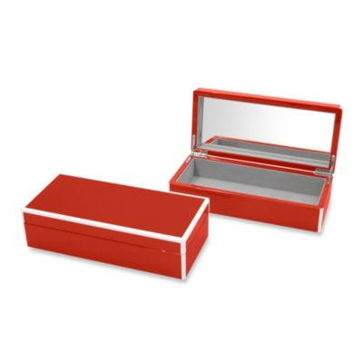 Swing Design™ Elle Lacquer Vanity Box in Red