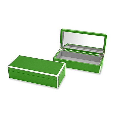 Swing Design™ Elle Lacquer Vanity Box in Green