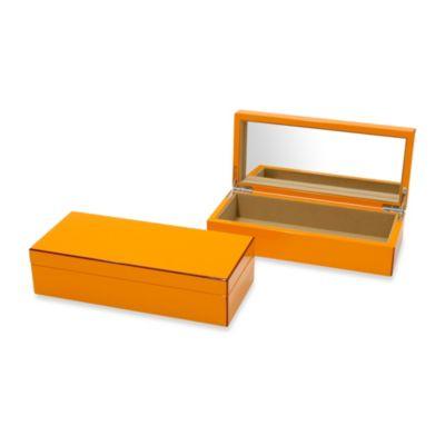 Swing Design™ Elle Lacquer Vanity Box in Orange
