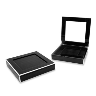 Swing Design™ Elle Lacquer Jewelry Display Box in Black